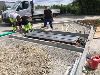 Brunn installation 3090cm