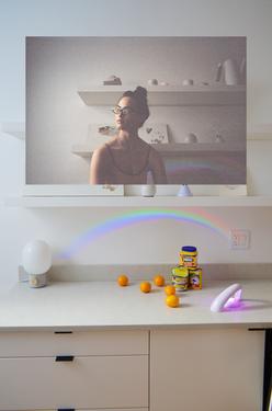 prop stylist, photographer, new york, interior blog, melissa johnson, artist, set, set design, art direction, art director, conceptual art, rainbow, prism, spectrum, NY publication, New York, NYC, art zine