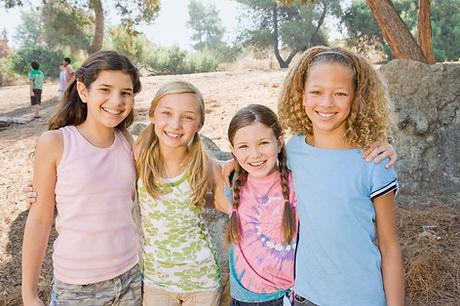 Niños contentos