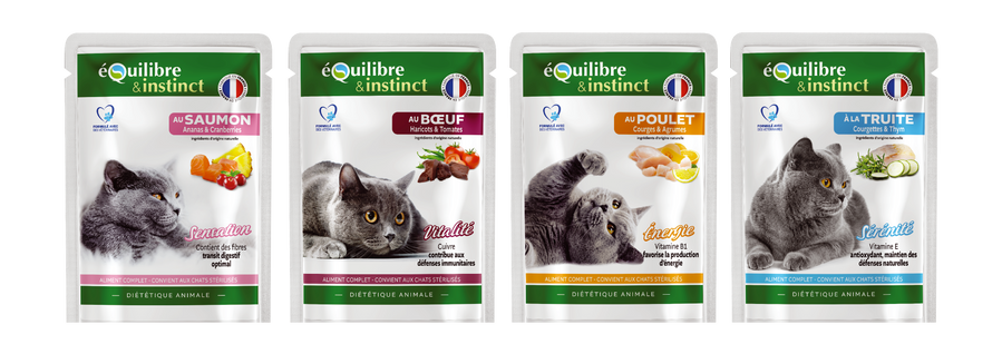 packagings pochons chats