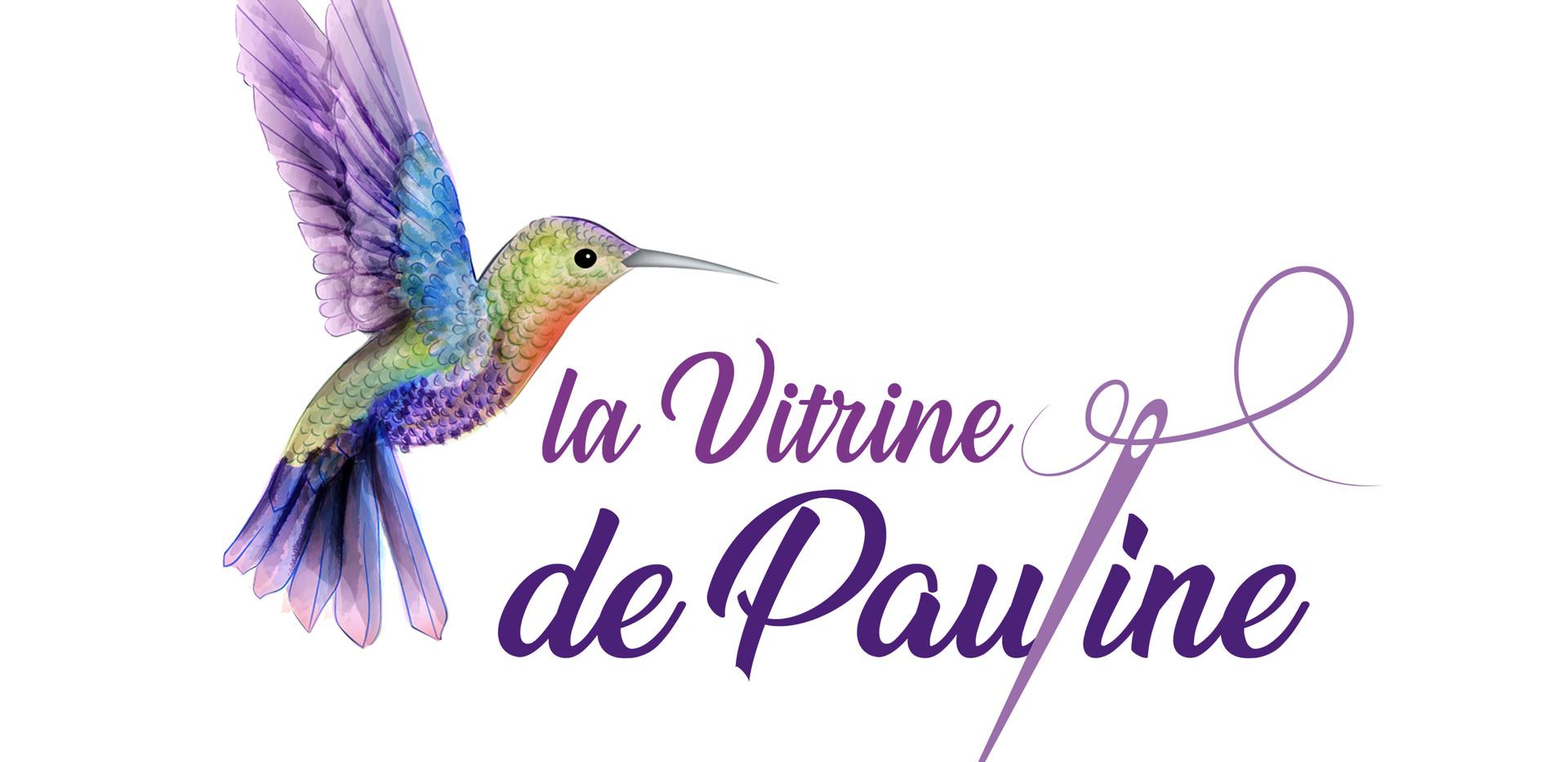 LOGO LA VITRINE DE PAULINE