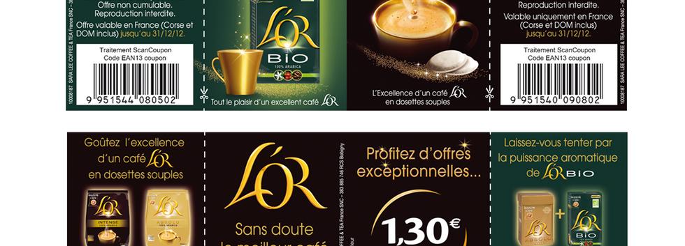CRɉATION LEAFLET L'OR DE MAISON DU CAFÉ
