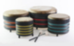 BDA3 Set of 4 short Trommus drums UK