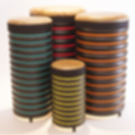 BDA1 Set of 4 tall Trommus drums UK