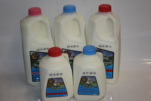 High Lawn Farm Milk