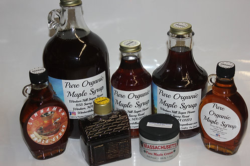 Organic Massachusetts Maple Syrup