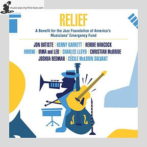 Sampler - Relief - A Benefit For The Jazz Foundation Of America's Musicians' Emergency Fund