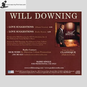 Will Downing - Love Suggestions