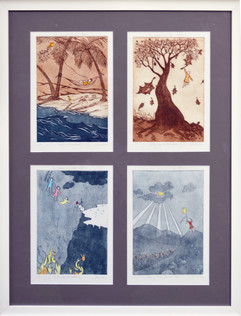 Four seasons in one day  - Series of 4 p