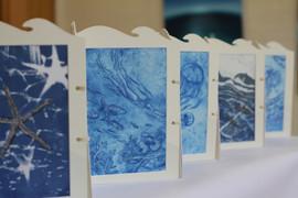 24 Blue ocean, deep sea - Artist book 4.