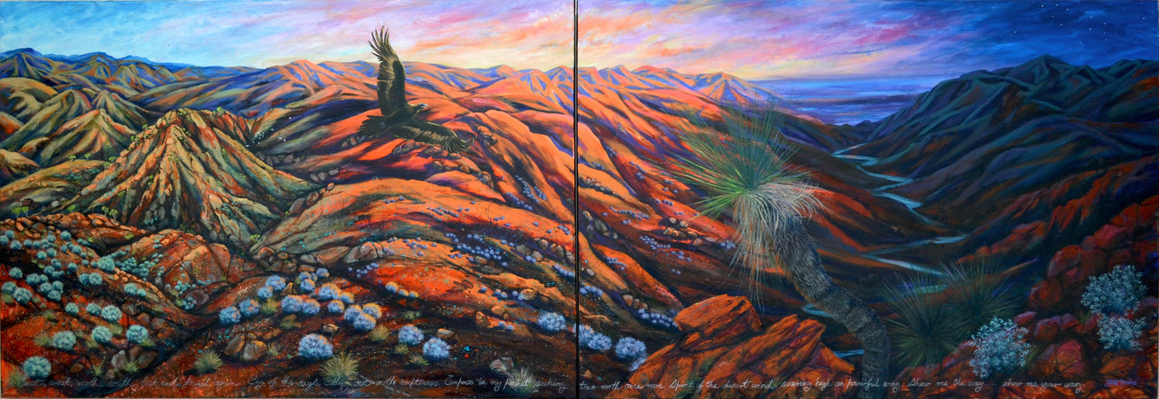 Cry of the Eagle - Diptych