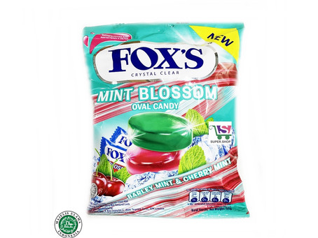 Fox candies are here, new Mint Blossom Oval Candy.
