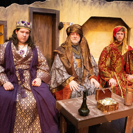 "Pat Chastain, Jeremy Bishop, and Ryan Long will delight audiences in ""Amahl and the Night Visitors"""