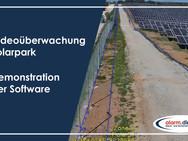 Videoüberwachung Solarpark