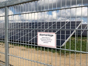 Solarparksicherung alarm.direct
