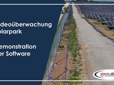 Überwachung Solarpark