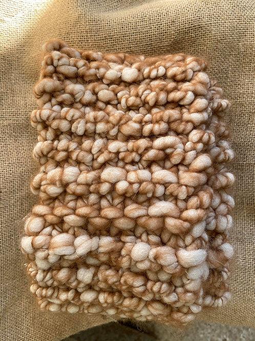 Chunky Knit Alpaca Scarf