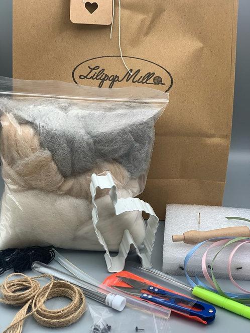 Alpaca Felting kit