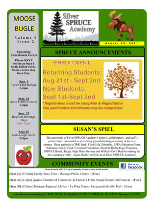 8/28/21 Bugle
