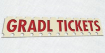 GRADL TICKETS