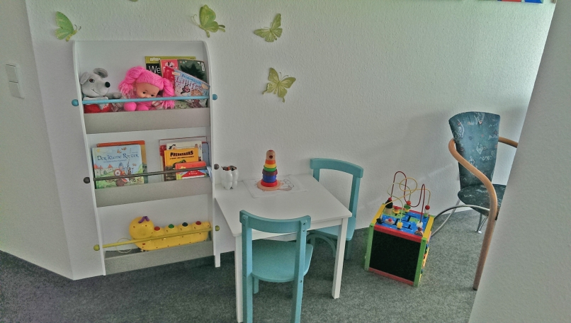 Der Kinder-Wartebereich