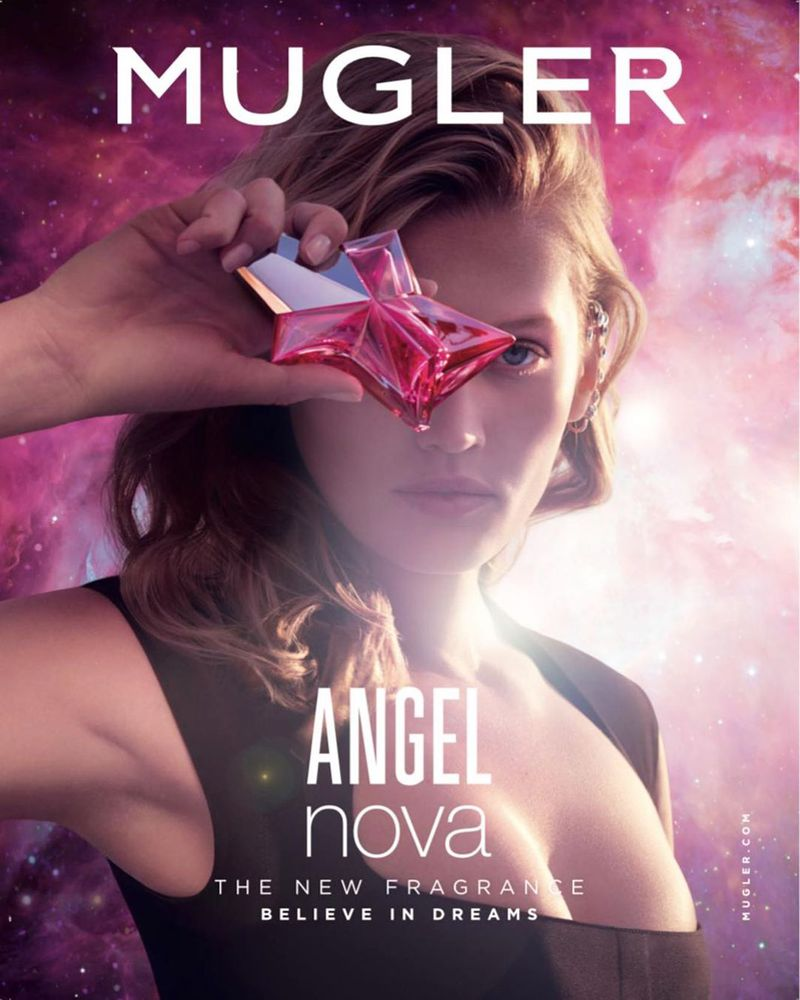 MUGLER ANGEL NOVA FRAGRANCE 2020 - JULIEN VALLON - GEORGIA PENDLEBURY