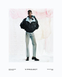 Y-PROJECT SS 21 CAMPAIGN - ARNAUD LAJEUNIE - ROBBIE SPENCER