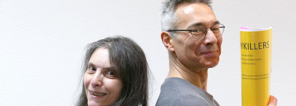 Regieteam Lothar Hohmann und Pia Vieli