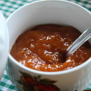 Melmelada de préssec sense sucre