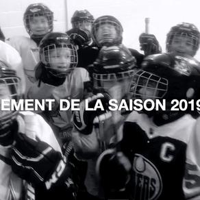 Lancement de saison 2019-2020  « Le hockey, un plaisir pour tous » - Yve Sigouin