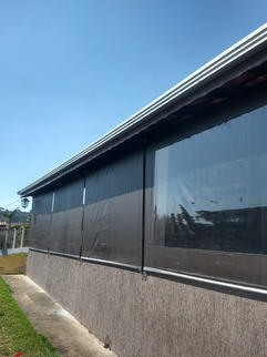 Cortina residencial, bronze HL