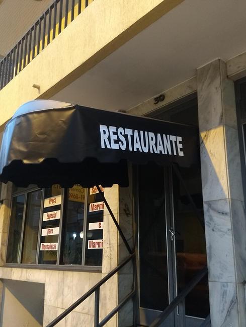 Toldos cobertura, restaurante Piaba
