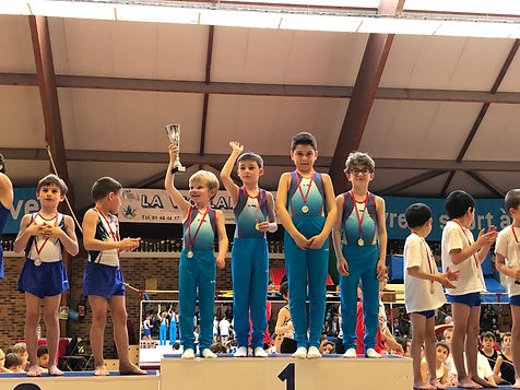 Gymnastique Artistique Masculine Equipe