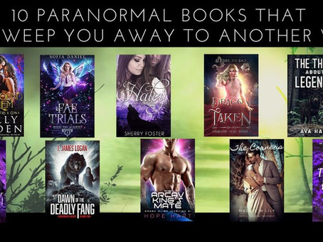 10 Paranormal Books That Will Sweep You Away To Another World
