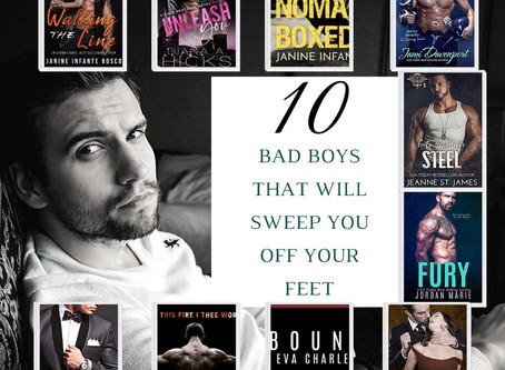10 Bad Boys Who Will Sweep You Off Your Feet