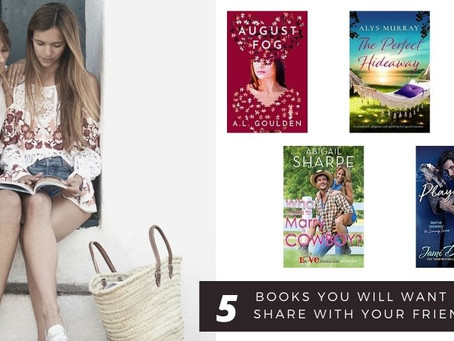 5 Books you will want to share with your friends