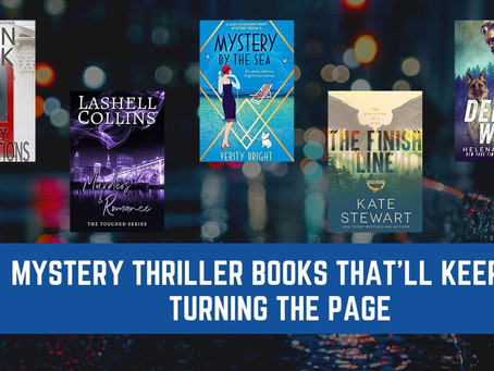 5 Mystery Thriller Books That'll Keep You Turning the Page