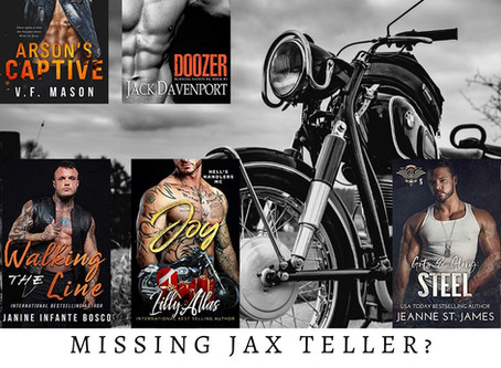 Missing Jax Teller? Try these 5 gritty & HOT romances!