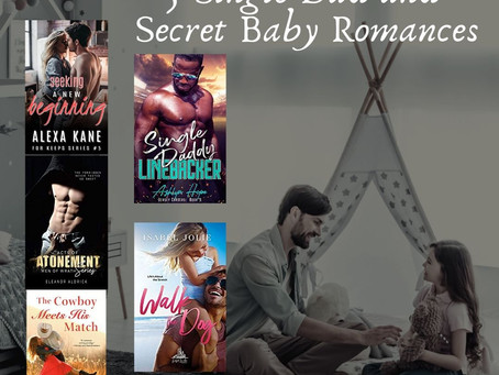 5 Single Dad and Secret Baby Romances