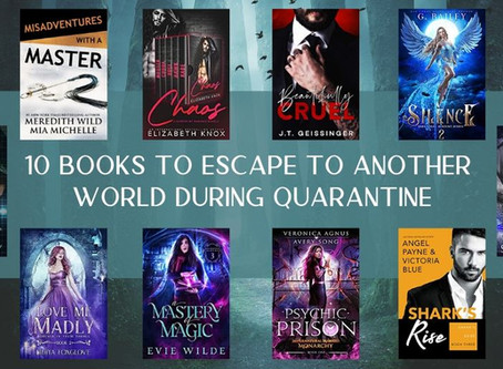 10 Books To Escape to Another World During Quarantine