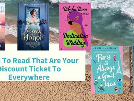 5 Books To Read That Are Your Discount Ticket To Everywhere