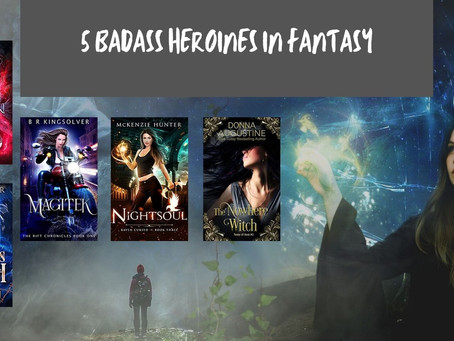 5 Badass Heroines in Fantasy