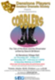 Denstone Players Cobblers Poster Februar