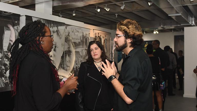 ART + FASHION | The Black Party