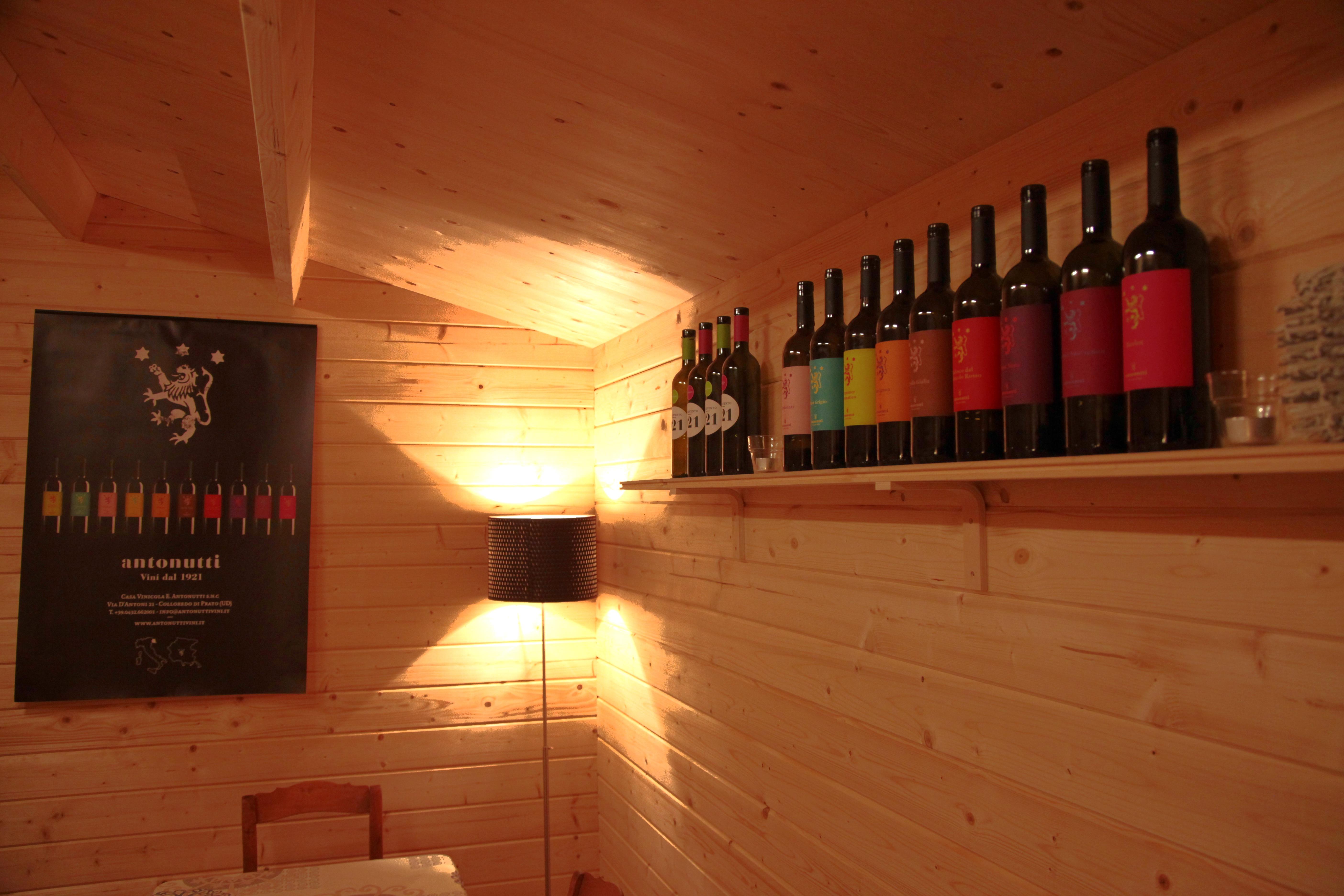 Chalet bouteilles 1