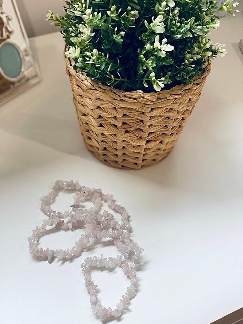 Rose Quartz Braclette