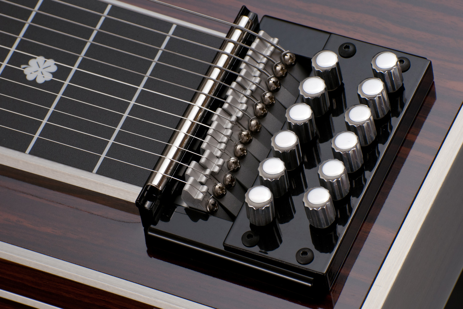 S-12 KU in Vintage Wood, tuner top angle