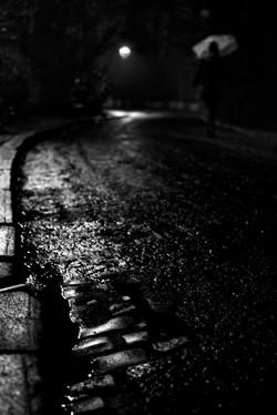 Pavés dans la nuit