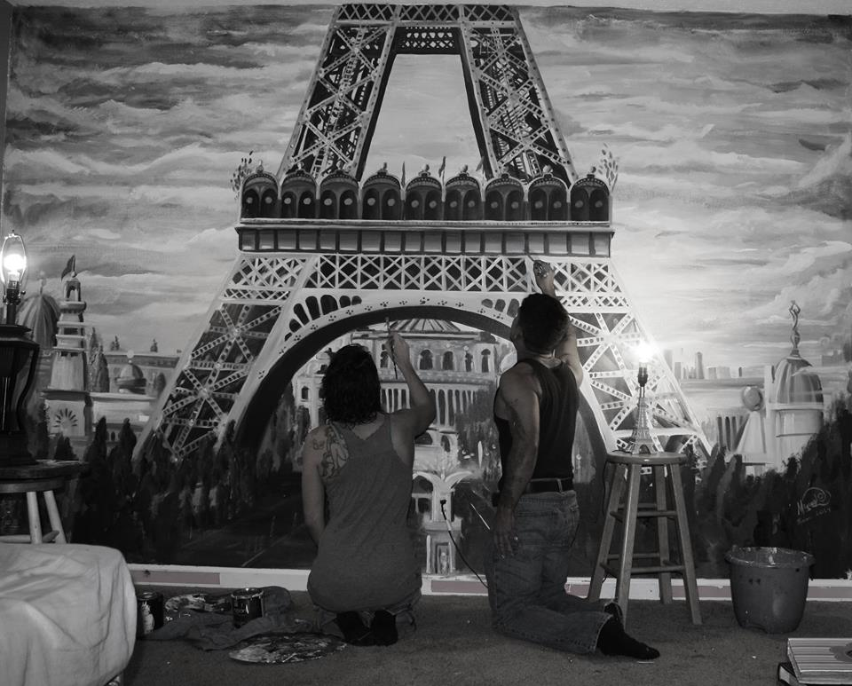 Paris Mural by Miguel Dominguez