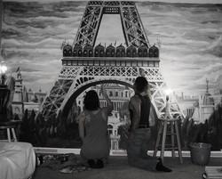 Paris Mural by Miguel Dominguez